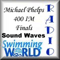 Click on Button to View to Swimming World Radio segment