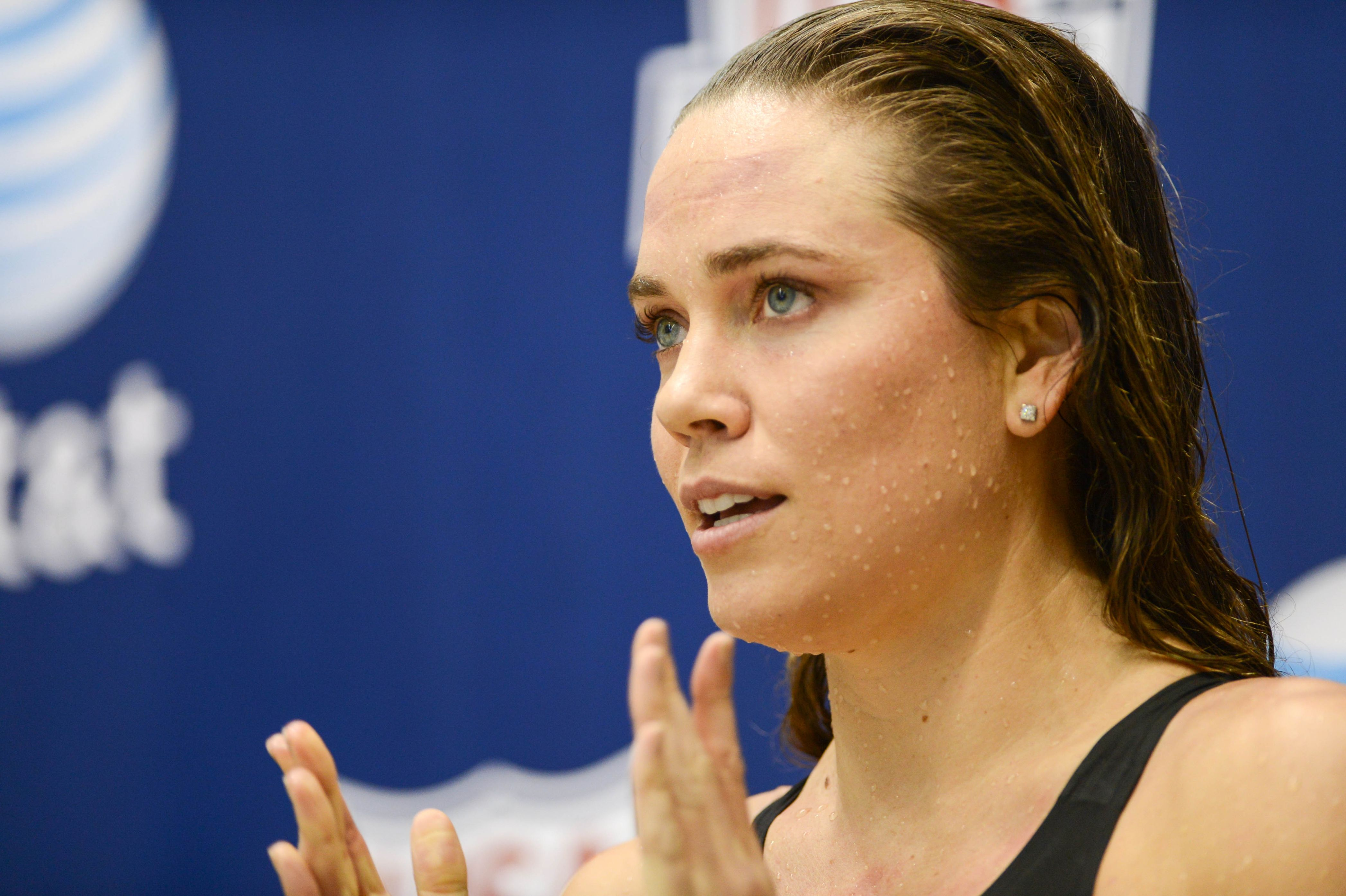 Natalie Coughlin earned a  million dollar salary - leaving the net worth at 1 million in 2017