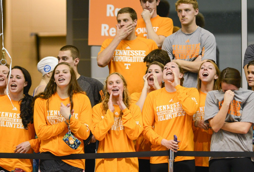 Tennessee swimming women's team
