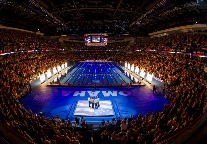 USA Swimming Sets Dates For 2016 U.S. Olympic Swimming Trials