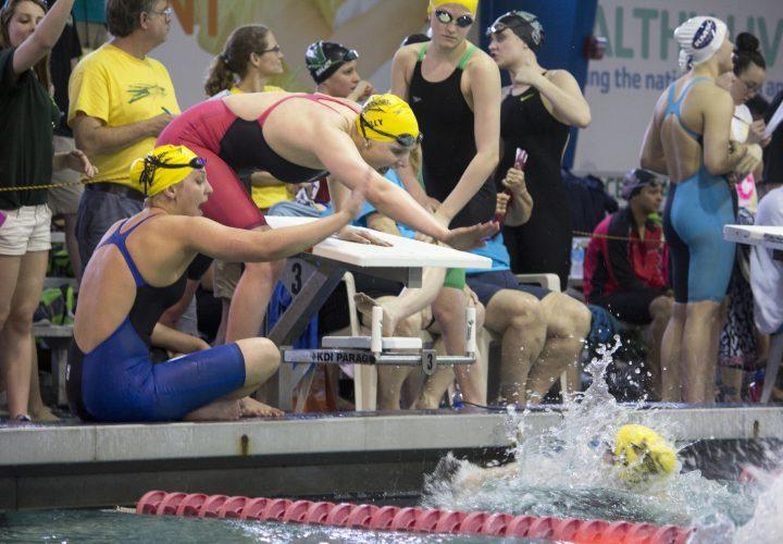 Dynamo Swim Club Shows Depth On Night One Of Atlanta Futures Swimming World News