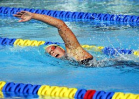 elite pro am swim meet 2009