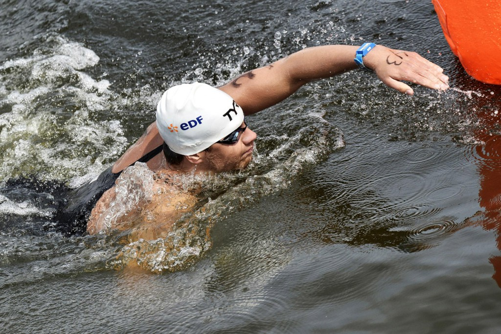 Axel Reymond France Gold Medal Open Water 25Km 32nd LEN European Championships Berlin, Germany 2014 Aug.13 th - Aug. 24 th Day05 - Aug. 17 Photo Andrea Staccioli/Deepbluemedia/Insidefoto