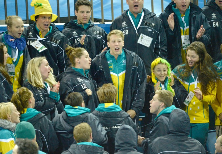 Swimming australia announces 2015 world university games - University of queensland swimming pool ...