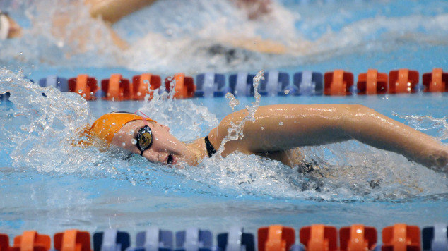 Auburn Women 39 S Swim And Dive Sweeps Notre Dame Vanderbilt