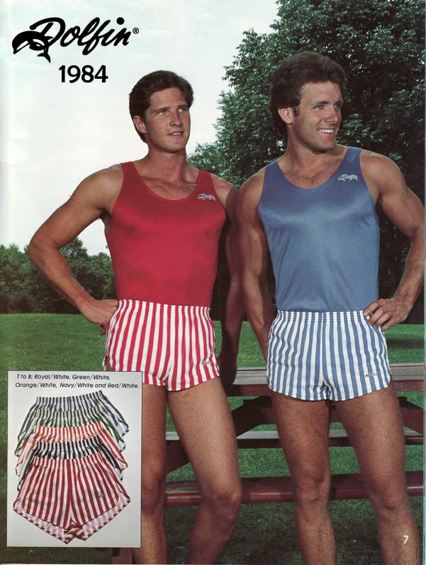 80s men's shorts
