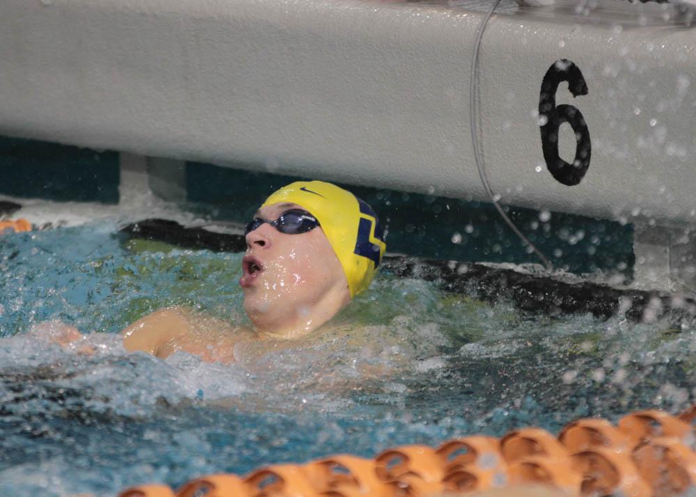 Big 12 Recap Wvu Sets Nine Pool Records Against Villanova Swimming World News