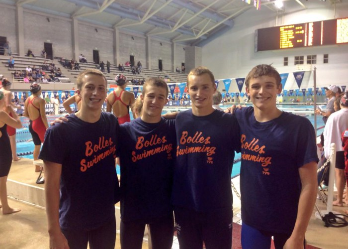 Bolles 15-16 National Age Group Record 200 Medley Relay 2014