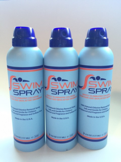 SwimSpray three-bottles