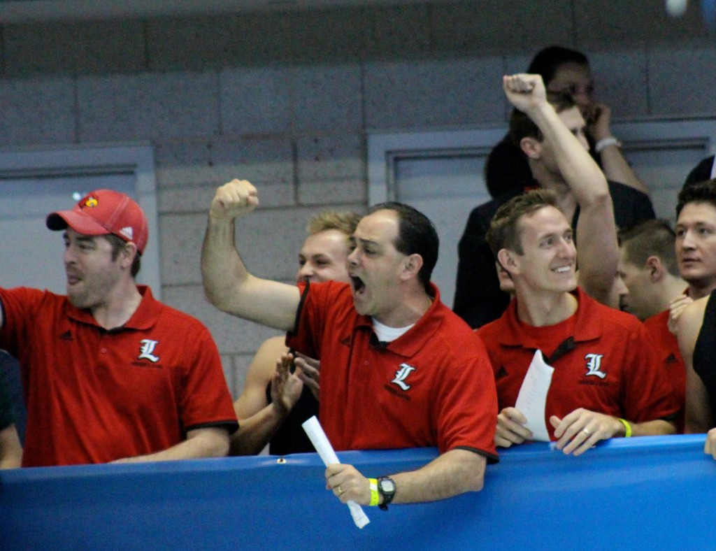 Louisville swimming coaches