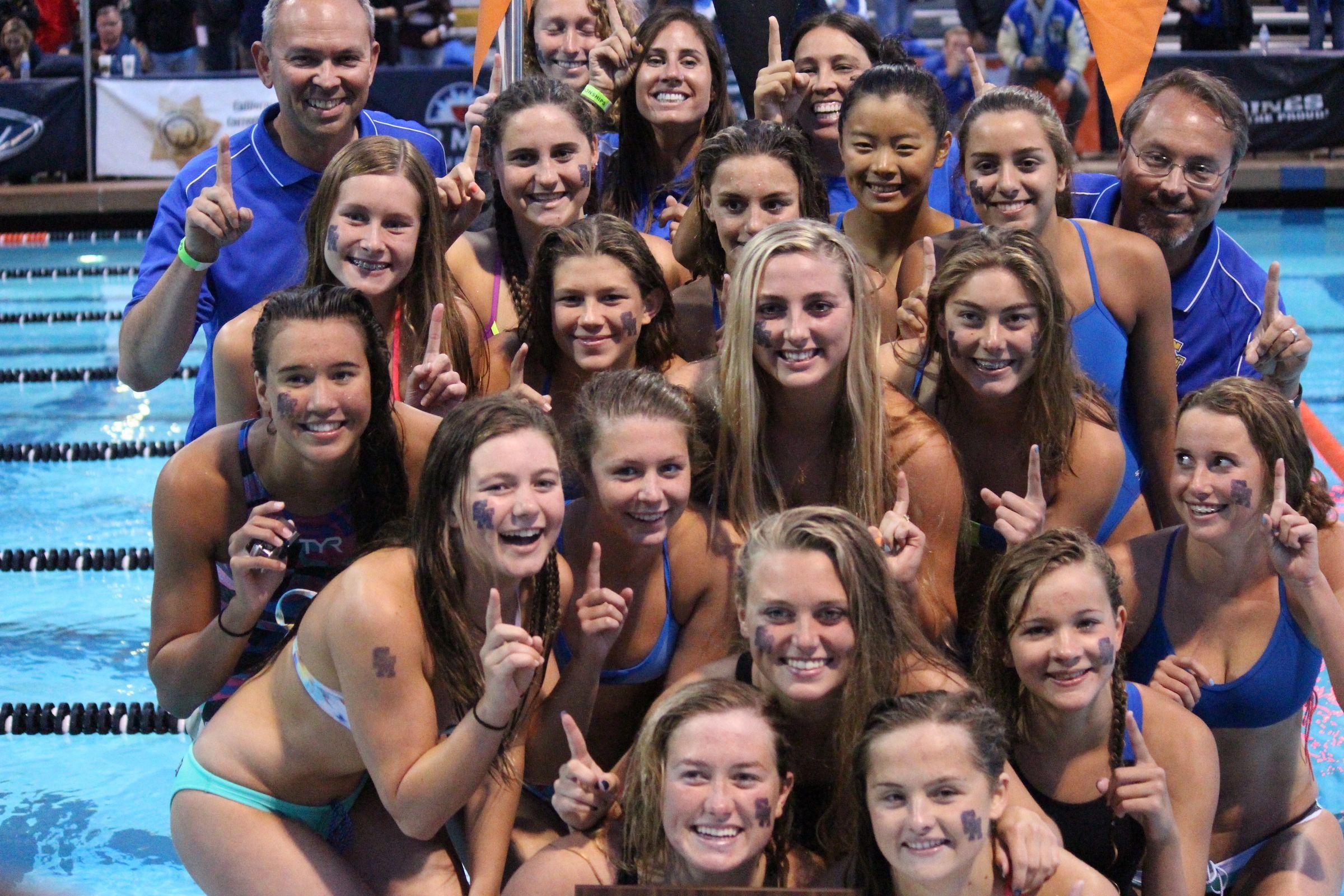 Samantha Shelton, Ella Ristic Lead Santa Margarita to CIF Southern Section D1 Title - Swimming World News