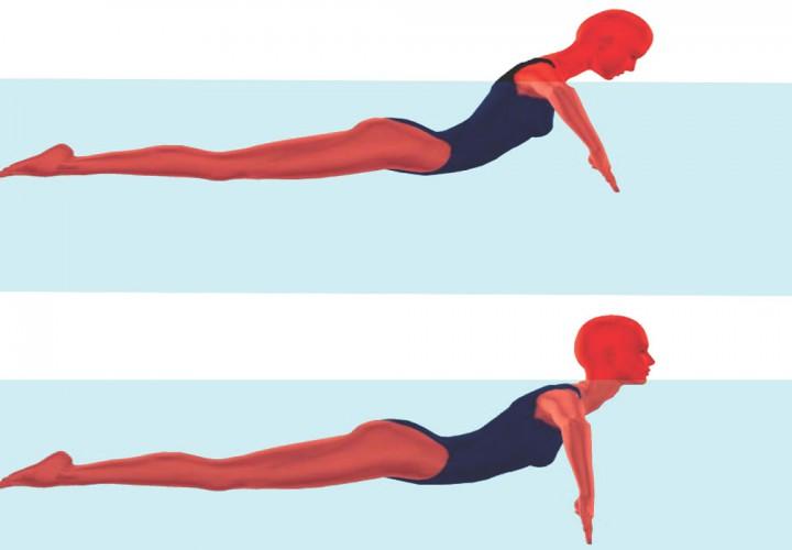 Breaststroke swimming technique