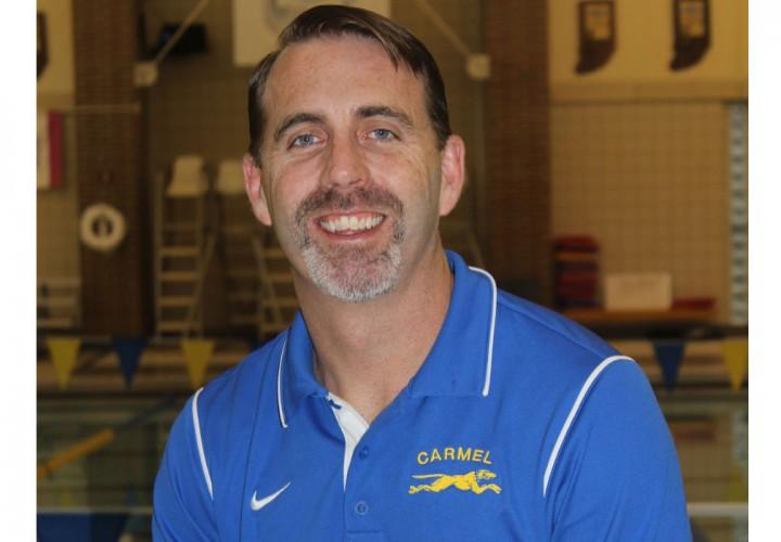 head coach chris plumb of carmel swim club