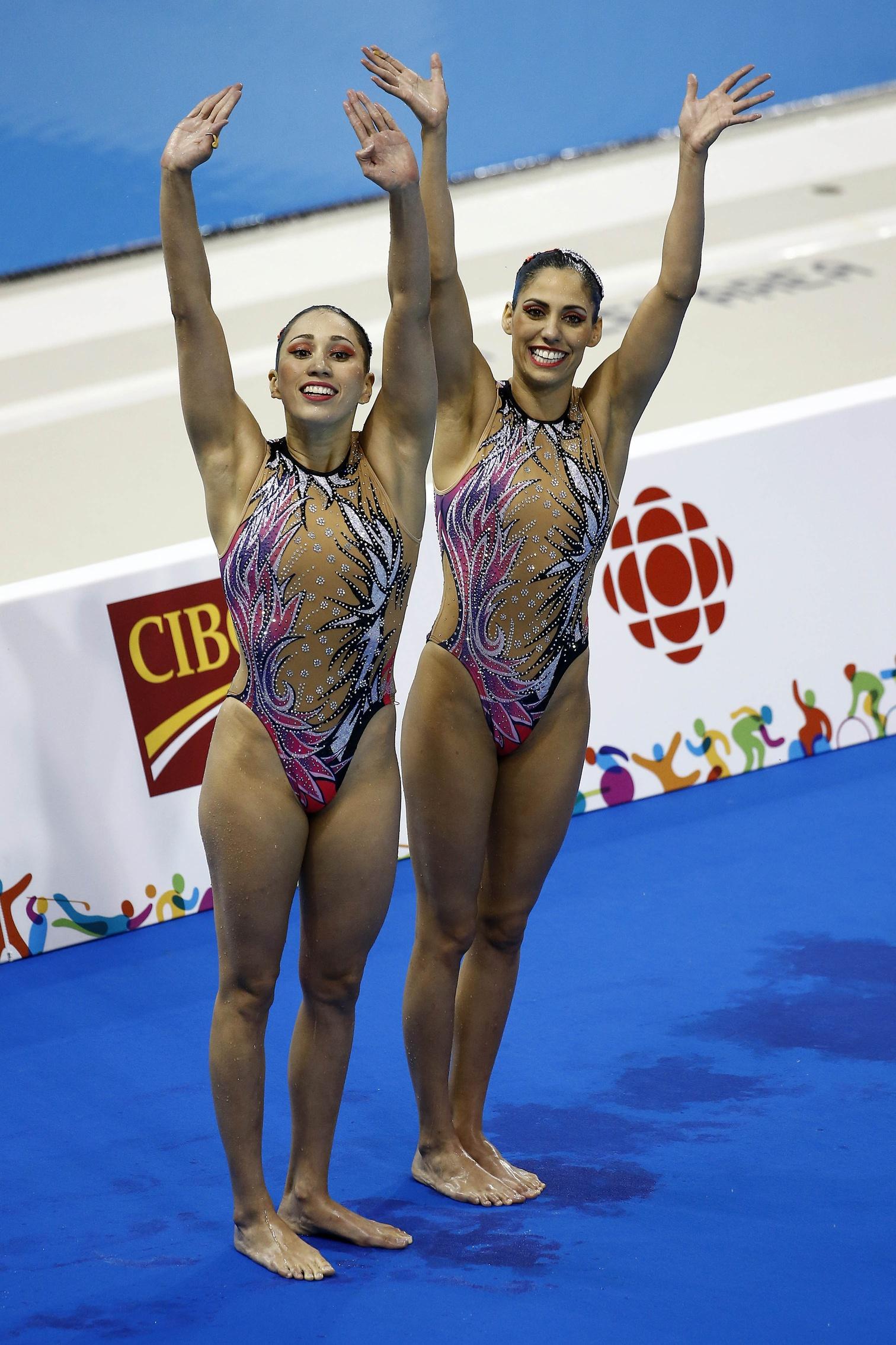 Synchro swimming pan american games 2015 20 swimming world news