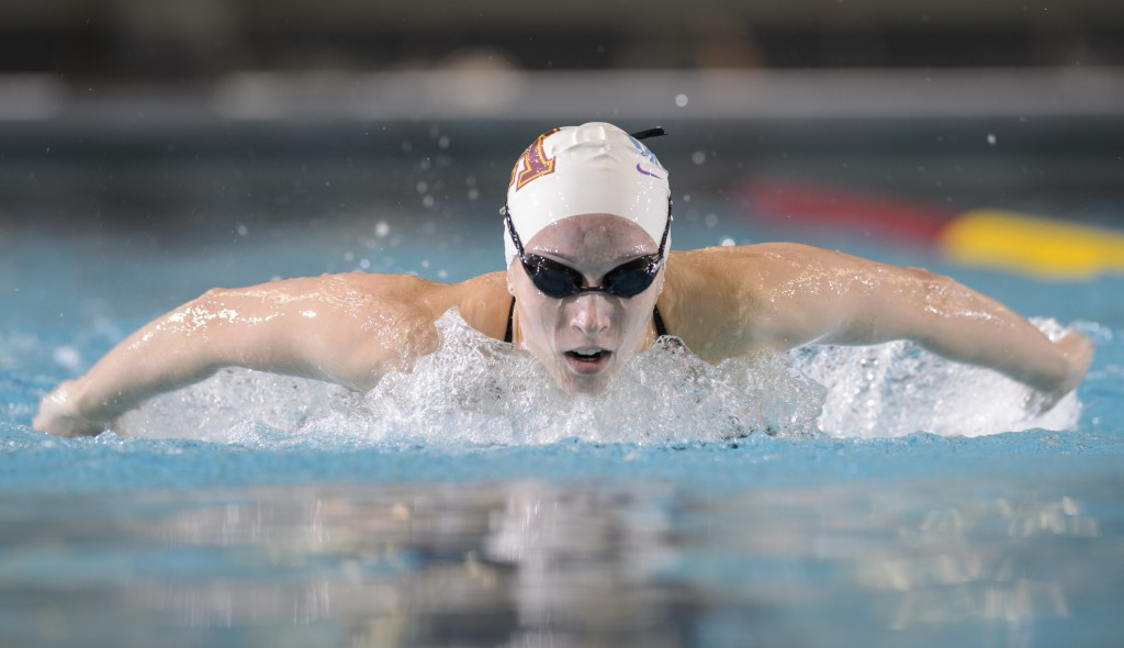 2014 - Minnesota Gophers Swimming hosts the Jean Freeman Invite -- Copyright Christopher Mitchell / SportShotPhoto.com