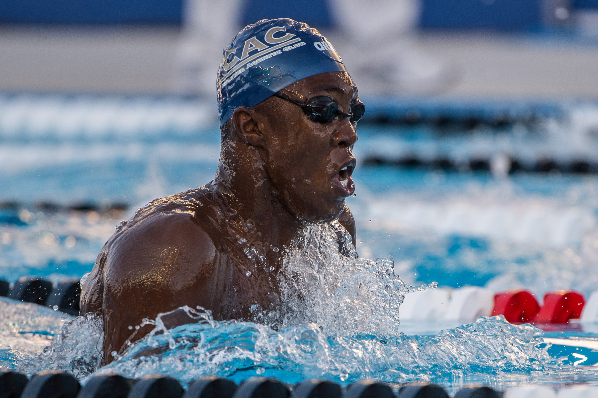 Think, that breast stroke division i college