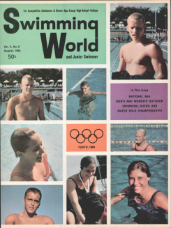 swimming-world-magazine-august-1964-cover