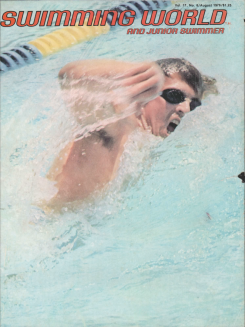 swimming-world-magazine-august-1976-cover