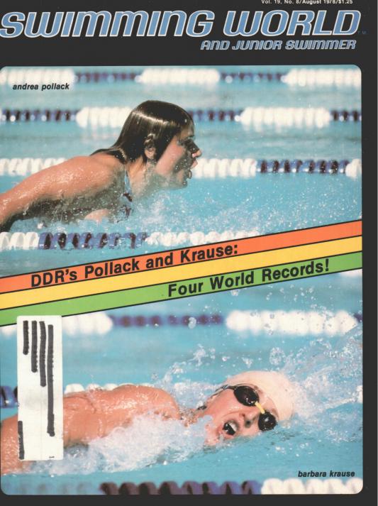 Swimming World Magazine August 1978 Issue