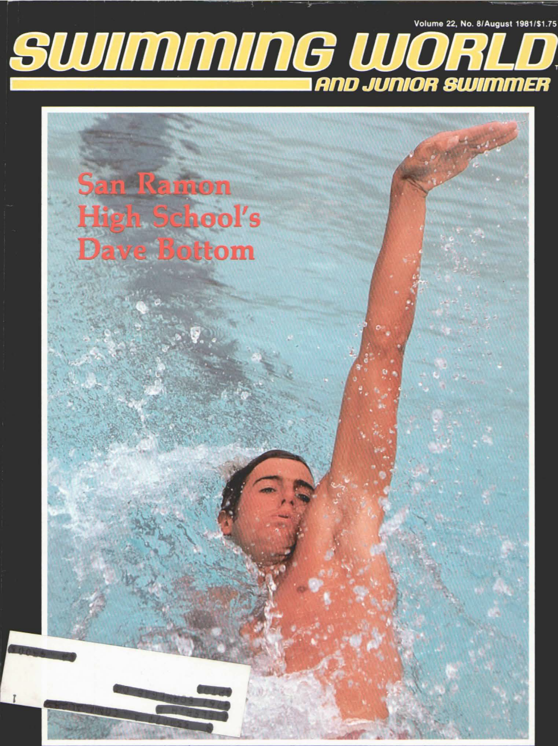 swimming-world-magazine-august-1981-cover