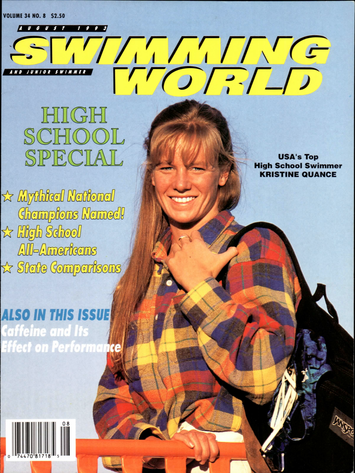 swimming-world-magazine-august-1993-cover