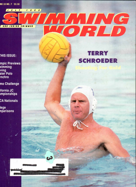 swimming-world-magazine-july-1992-cover