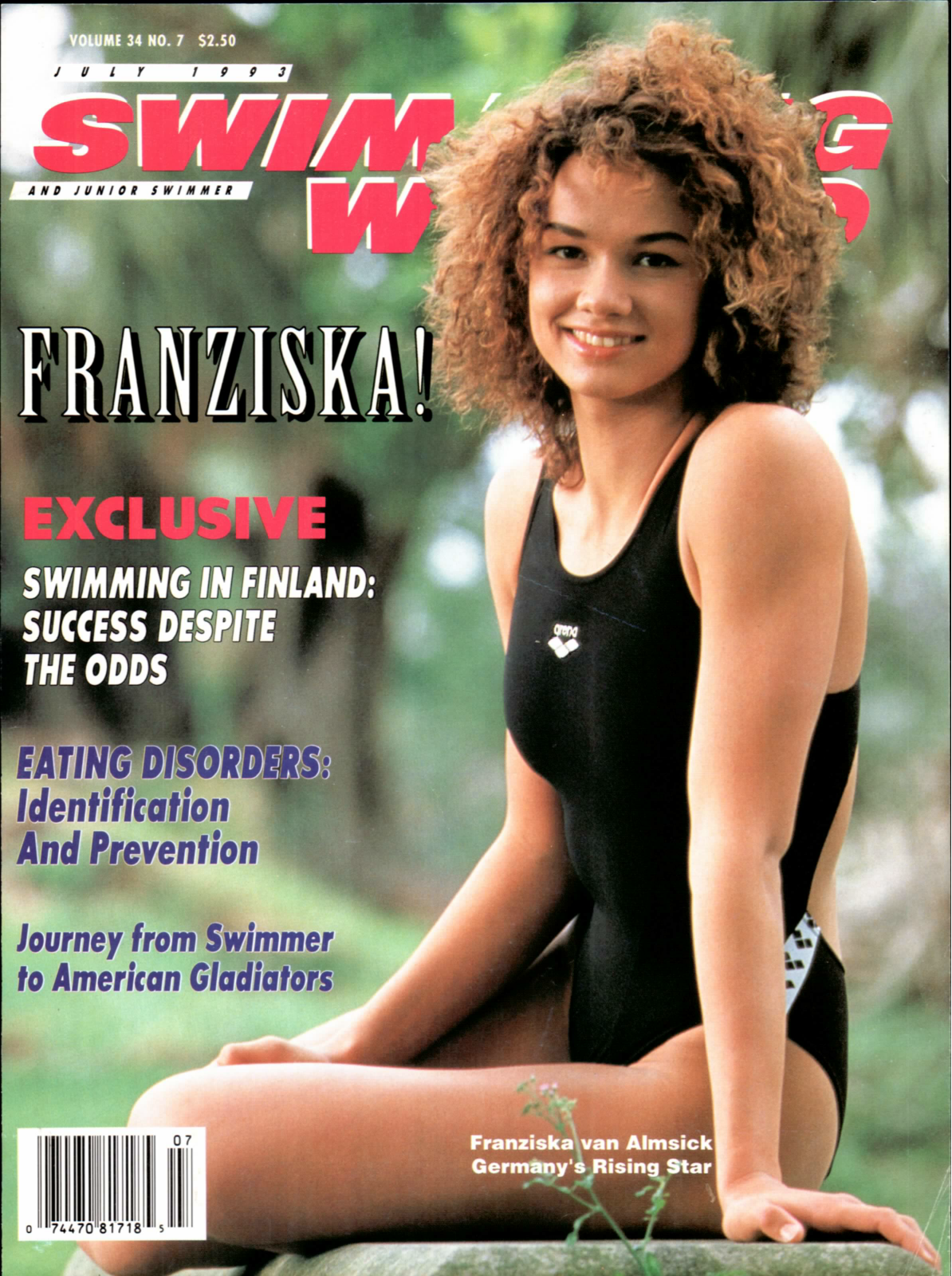 Swimming World Magazine July 1993 Issue- PDF ONLY