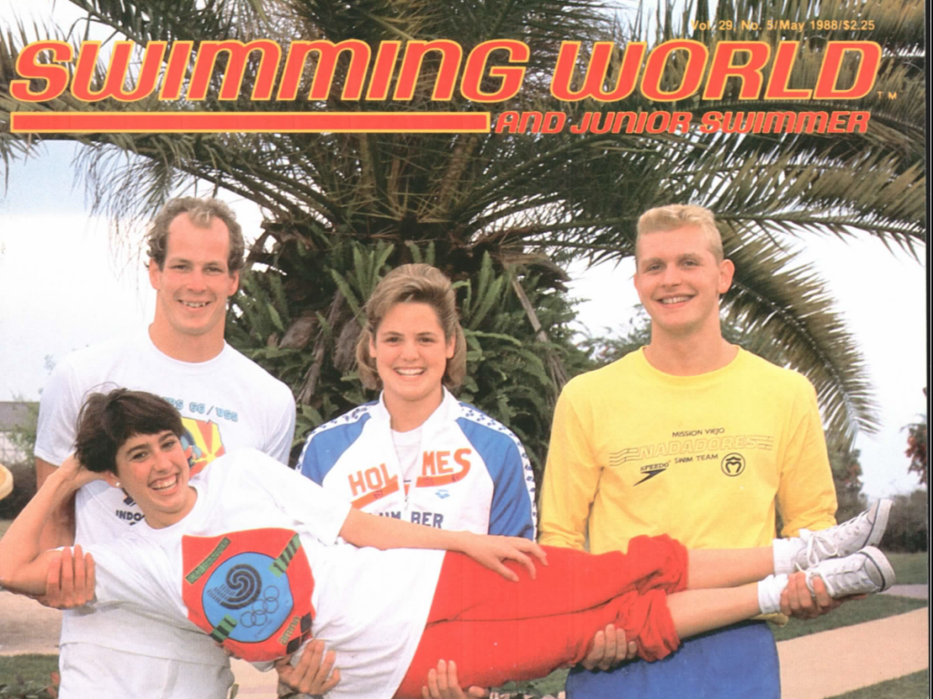 swimming-world-magazine-may-1988-cover