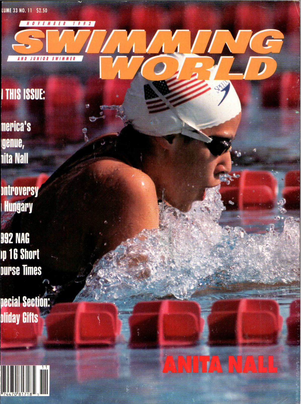 swimming-world-magazine-november-1992-cover