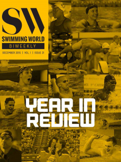 Swimming World Biweekly Cover
