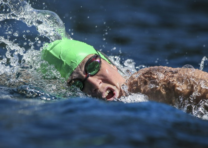 Charlotte Webby during the 10km Open Water Race of the New Zeal and Open  Water b33c674ac6ec