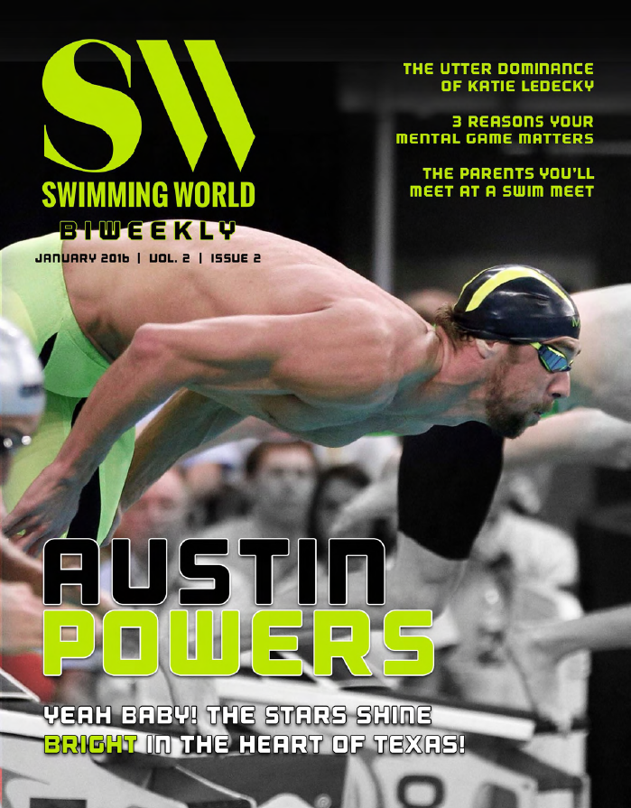 swimming world biweekly yeah baby the stars shine bright in texas