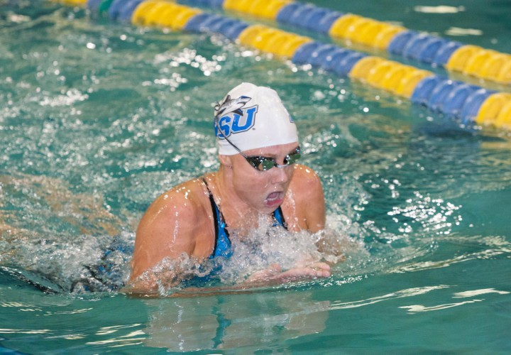 Division ii meet of the week nova southeastern sweeps - Southeastern college pasay swimming pool ...
