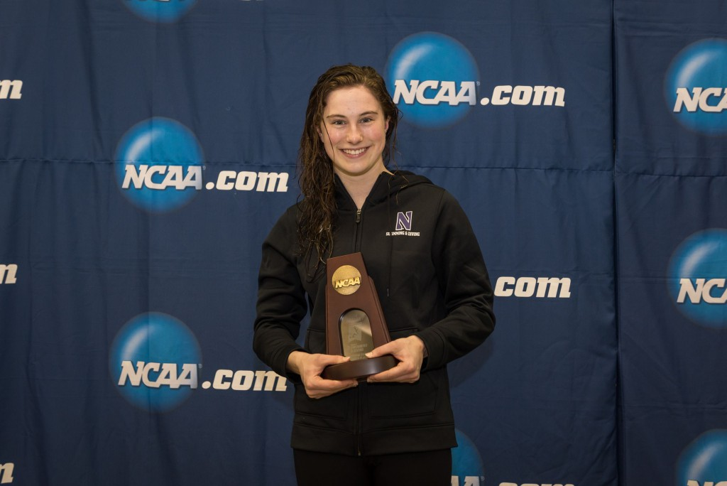 2016.03.19 2016 Womens NCAA Swimming Championships_Northwestern Olivia Rosendahl