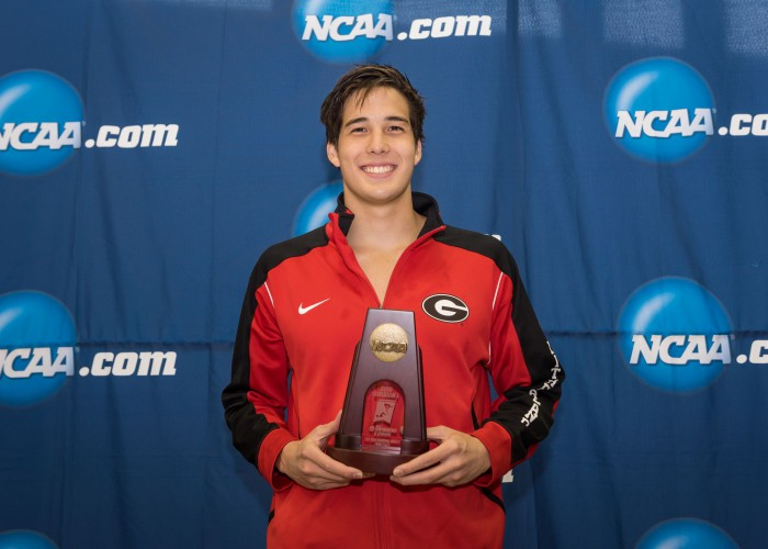 2016.03.25 NCAA Mens Swimming Championships_Georgia Jay Litherland