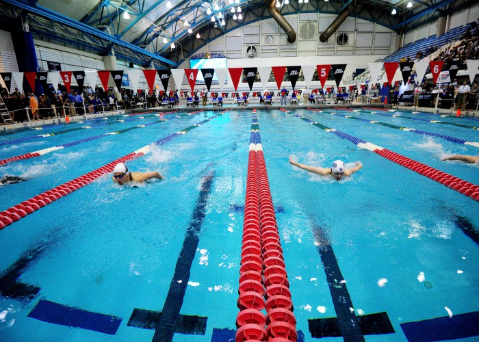 2016 Big East Swimming and Diving Championship on Feb. 26, 2016 at Nassau County Aquatic Center in East Meadow, New York.