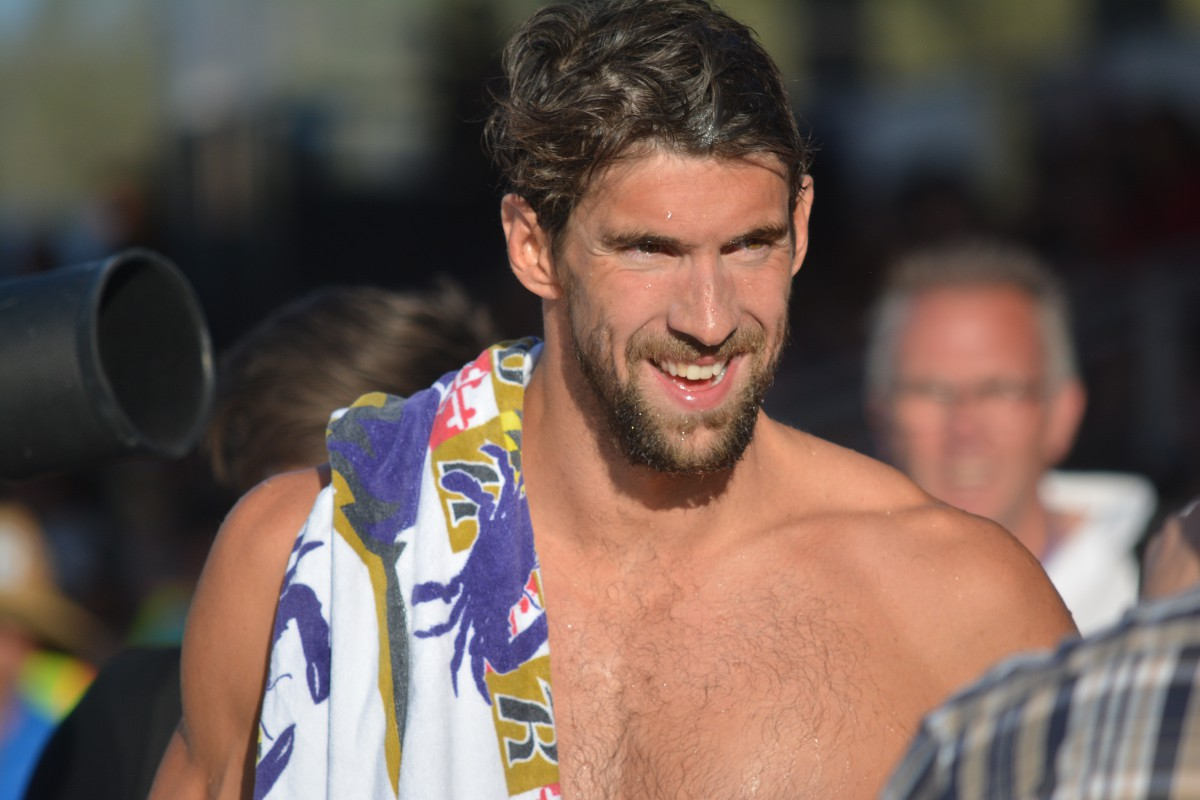 Video Interview Michael Phelps Proud Of Kalisz For Keeping The 400