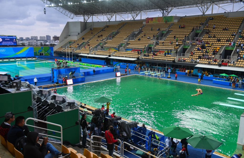 diving-water-polo-pools-green-water-2016-rio-olympics