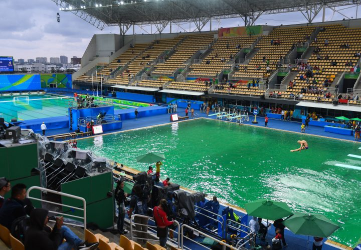 Updated Everything In Rio Is Green Even The Diving Well Swimming World News