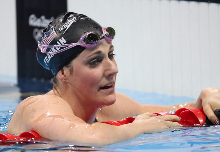 Congratulations to Missy Franklin for winning the Sportswoman of the Year  Award!