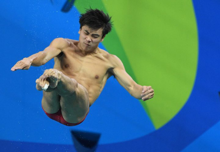 Olympic diving recap shocking men 39 s preliminary results swimming world news - Dive recorder results ...