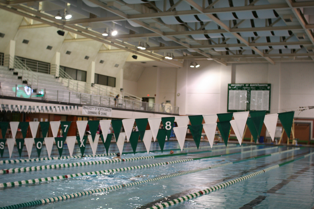 University Of North Dakota Pool Swimming World News