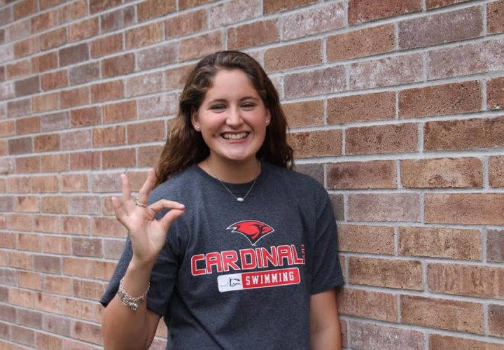 Hannah rowley commits to swim at university of the - Trinity college swimming pool timetable ...