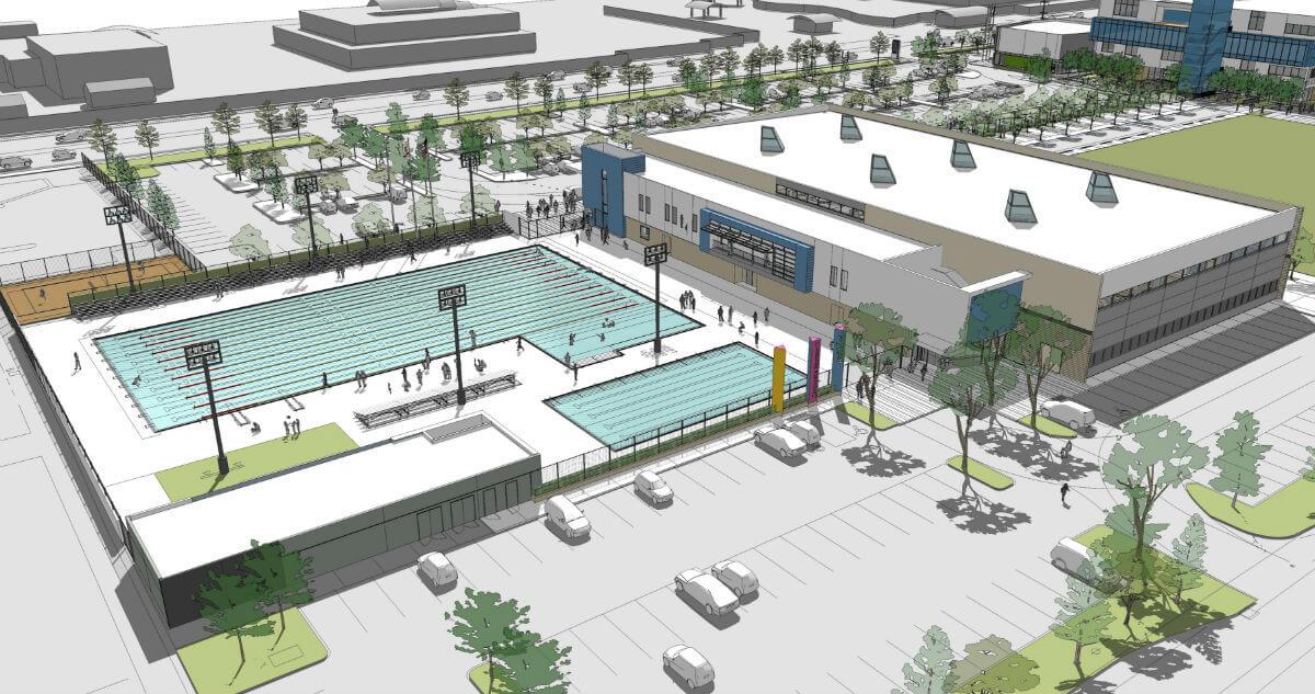 city of el segundo finalizes 13 8 million construction budget for new aquatics center