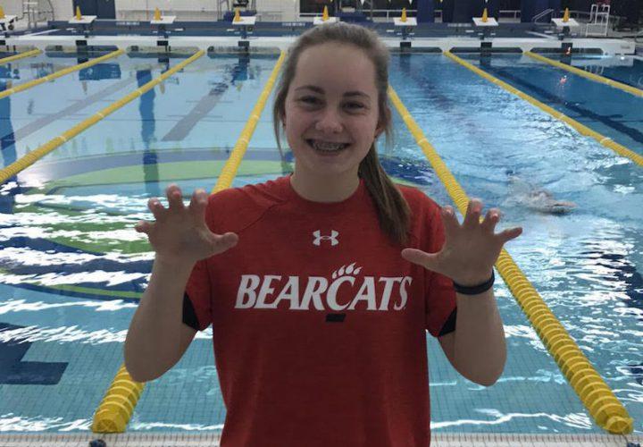 Victor swim club 39 s bailey klafehn commits to cincinnati bearcats for University of cincinnati swimming pool