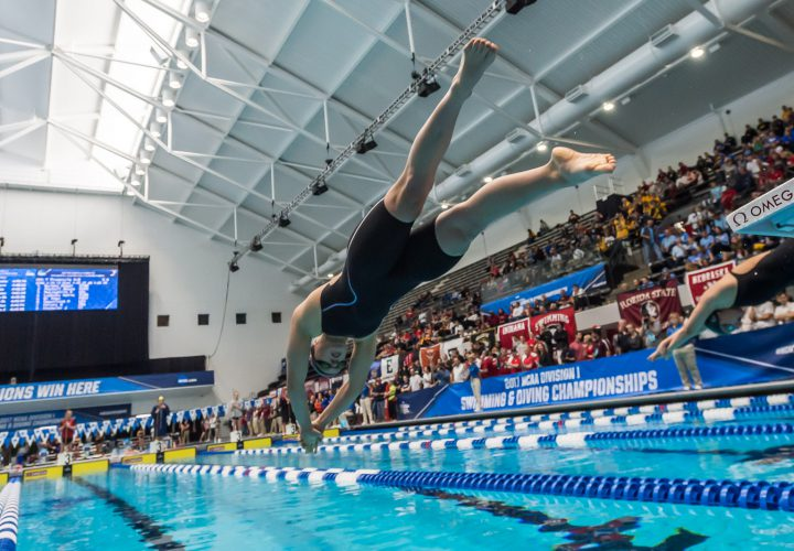 Who Are The Top 25 Women S Swimmers In 2017 2018 Ncaa Season