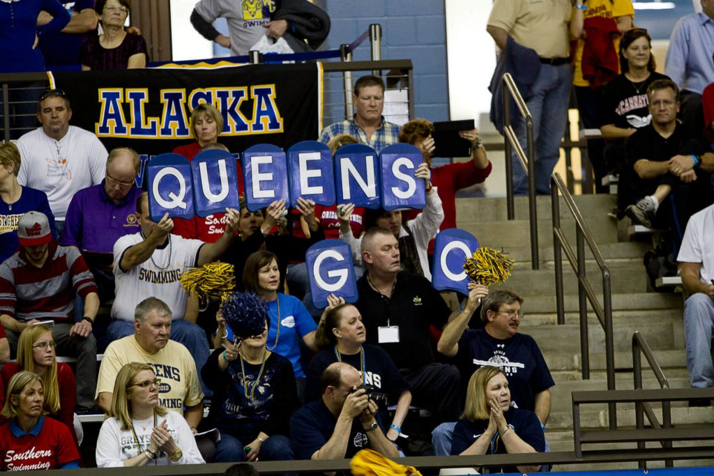 queens-cheering-section