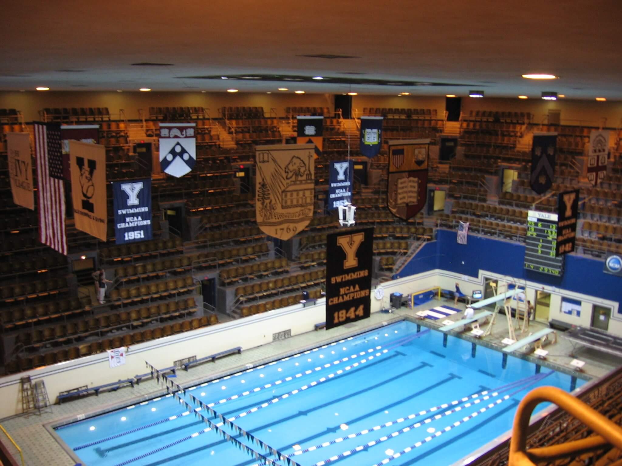 Yale Pool Swimming World News