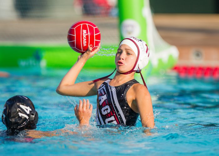 July 26, 2016; Stanford, CA, USA; USA Water Polo Junior Olympics 10G Laguna Beach v Stanford. Photo Credit: Kelley L Cox-KLC fotos