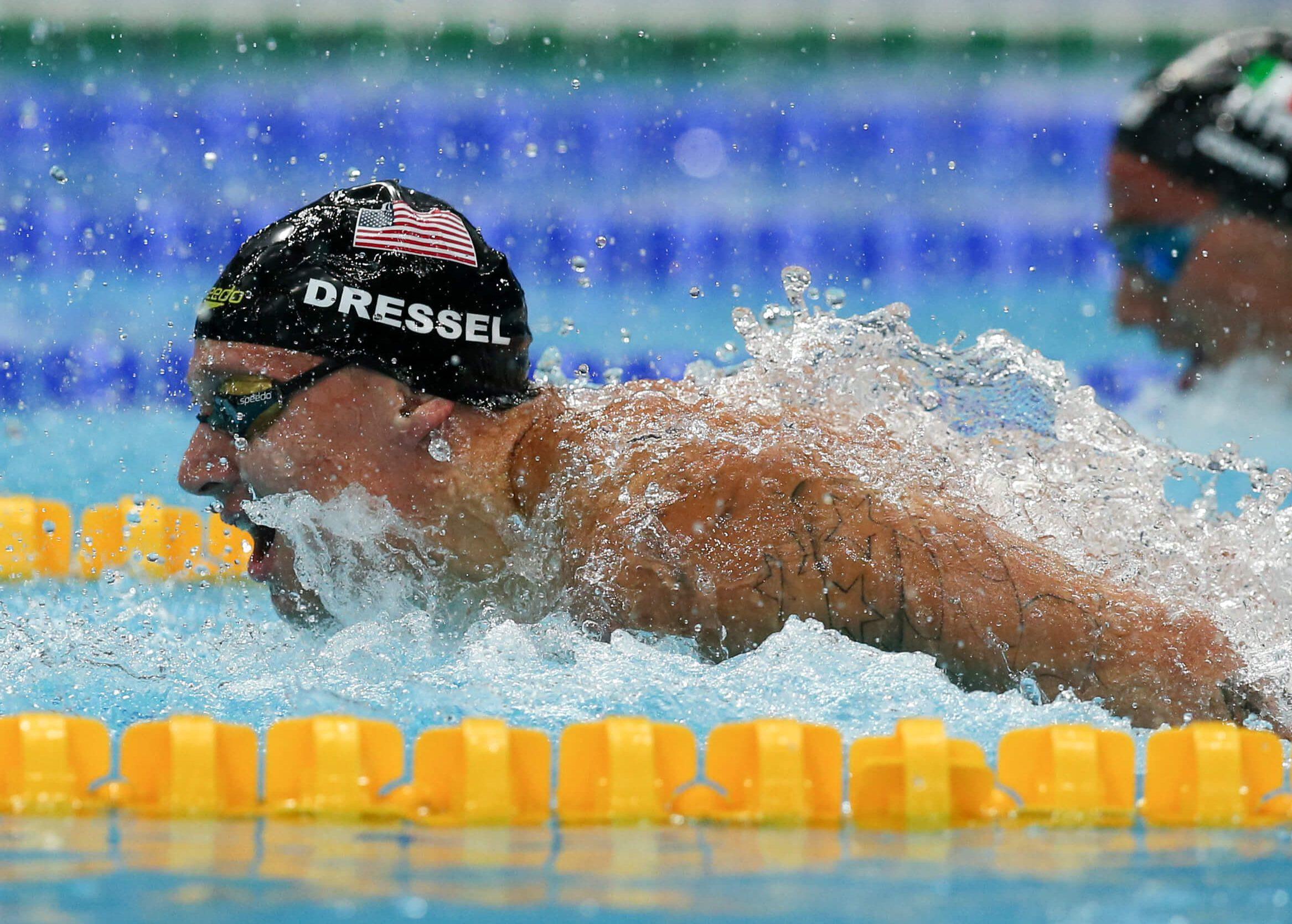 Caeleb Dressel, Katie Ledecky Nominated for Laureus Sports Awards - Swimming World News